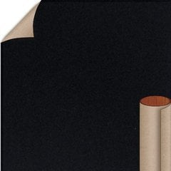 Jett Black Textured Finish 5 ft. x 12 ft. Countertop Grade Laminate Sheet <small>(#S6053T-T-H5-60X144)</small>
