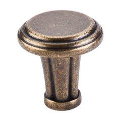 Luxor 1-1/4 Inch Diameter German Bronze Cabinet Knob <small>(#TK196GBZ)</small>