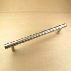 Stainless 6-5/16 Inch Center to Center Brushed Stainless Steel Cabinet Pull <small>(#40459A-32D)</small>