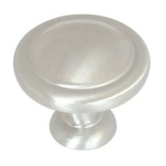 Reflections 1-1/4 Inch Diameter Satin Nickel Cabinet Knob
