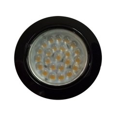 KB12-LED Black Spotlight - Cool White