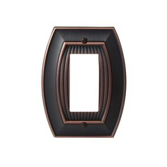 Allison One Rocker Wall Plate Oil Rubbed Bronze