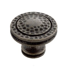 Mountain Lodge 1-3/8 Inch Diameter Windover Antique Cabinet Knob