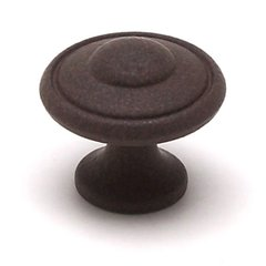 Euro Traditions 1-3/16 Inch Diameter Dull Rust Cabinet Knob <small>(#2928-1FE-P)</small>