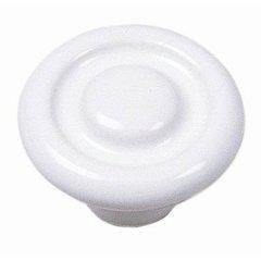 Mesa 1-3/8 Inch Diameter White Cabinet Knob <small>(#01542)</small>