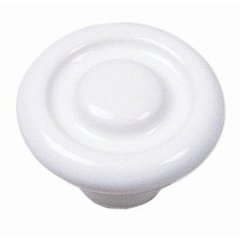 Mesa 1-3/8 Inch Diameter White Cabinet Knob