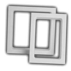 Electric Trim Ring Single White <small>(#ETR-SINGLE)</small>