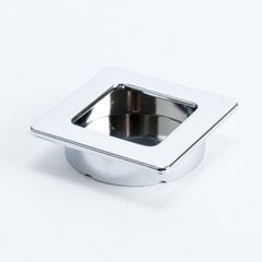 Stylus 1-7/8 Inch Diameter Polished Chrome Recess Pull