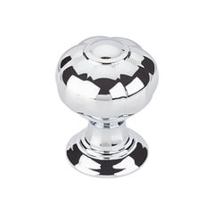"Devon Allington Knob 1"" Dia Polished Chrome <small>(#TK690PC)</small>"