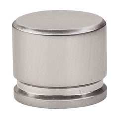 Sanctuary 1-3/8 Inch Length Brushed Satin Nickel Cabinet Knob <small>(#TK61BSN)</small>