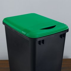 Flip Up Lid For 50 Quart Container - Green <small>(#RV-50-LID-G-1)</small>