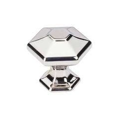 Transcend 1-1/8 Inch Diameter Polished Nickel Cabinet Knob <small>(#TK712PN)</small>
