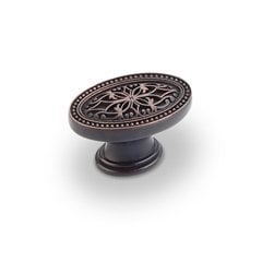 Odessa 1-3/4 Inch Diameter Dark Brushed Antique Copper Cabinet Knob