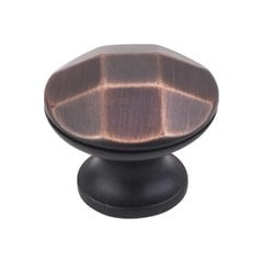 Drake 1-1/4 Inch Diameter Brushed Oil Rubbed Bronze Cabinet Knob