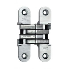 #216 Invisible Spring Closer Hinge Satin Chrome