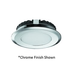 Hafele Loox 2039 12V LED Matte Nickel Spotlight Warm White 833.72.091
