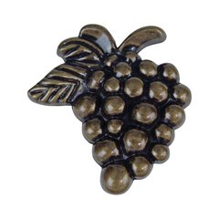 Fruit 2 Inch Diameter Burnished Bronze Cabinet Knob