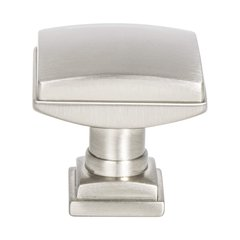 "Tailored Traditional Knob 1-1/4"" Dia Brushed Nickel <small>(#1272-1BPN-P)</small>"