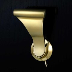 UltraLatch For 1-3/8 inch Door with Privacy Latch Satin Brass <small>(#L18P-4)</small>