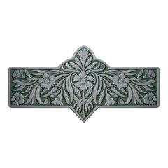 English Garden 3 Inch Center to Center Antique Pewter Cabinet Pull <small>(#NHP-678-AP-C)</small>