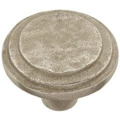 Riverside Knob 1-5/8 inch Diameter Natural White Bronze