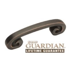 Swirl'Z 3 Inch Center to Center Oil Rubbed Bronze Cabinet Pull <small>(#BP9337ORB)</small>