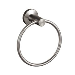 Nirvana Towel Ring Brushed Stainless Steel <small>(#66028)</small>