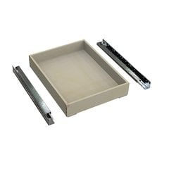 QuikTRAY Add On Drawer for 18 inch Cabinets 3.5 inch High