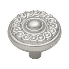 Silverado 1-1/4 Inch Diameter Satin Nickel Cabinet Knob