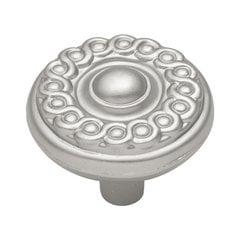 Silverado 1-1/4 Inch Diameter Satin Nickel Cabinet Knob <small>(#P7352-SN)</small>