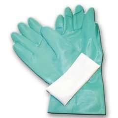 Chemical Resistant Gloves Size Large Green