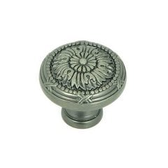 Cornell 1-1/4 Inch Diameter Weathered Nickel Cabinet Knob