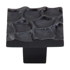 Cobblestone 1-3/8 Inch Diameter Coal Black Cabinet Knob <small>(#TK301CB)</small>