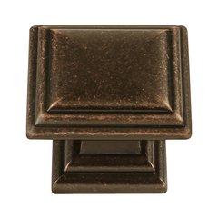 Somerset 1-5/16 Inch Diameter Dark Antique Copper Cabinet Knob <small>(#HH74639-DAC)</small>