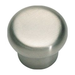 Fluted 1-1/4 Inch Diameter Stainless Steel Cabinet Knob