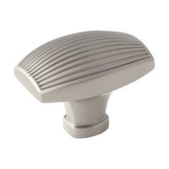 Sea Grass 1-3/4 Inch Diameter Satin Nickel Cabinet Knob