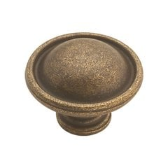 Oxford Antique 1-3/8 Inch Diameter Windover Antique Cabinet Knob