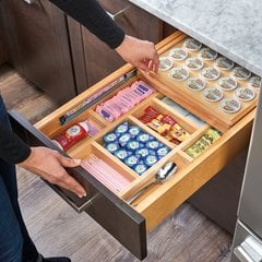 "Soft Close K-Cup Drawer for 18"" Cabinets W/ Slides"
