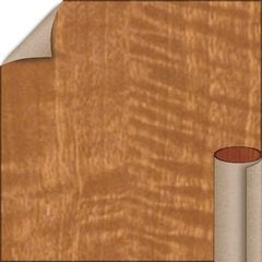Tawny Satinwood Textured Finish 4 ft. x 8 ft. Vertical Grade Laminate Sheet