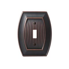 Amerock Allison One Toggle Wall Plate Oil Rubbed Bronze BP36528ORB