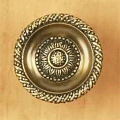 Sunflower 1-3/8 Inch Diameter Estate Dover Cabinet Knob