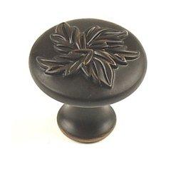 Aspen 1-3/16 Inch Diameter Regent Bronze Cabinet Knob