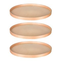 22 inch Full Round Lazy Susan - 3 Shelf Set with Bearing
