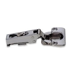 100 Degree Hinge 19mm Overlay / Self-Closing-Stainless