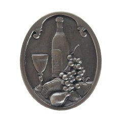 Tuscan 1-1/2 Inch Diameter Antique Pewter Cabinet Knob