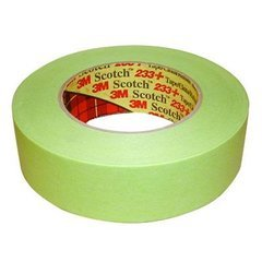 3m Scotch Performance Masking Tape 233+ 1 inch x 55M Green