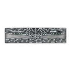 Tropical 3 Inch Center to Center Antique Pewter Cabinet Pull <small>(#NHP-323-AP)</small>