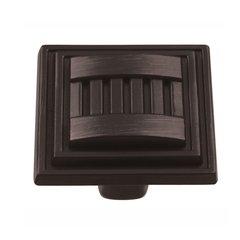 Sydney 1-5/16 Inch Diameter Vintage Bronze Cabinet Knob