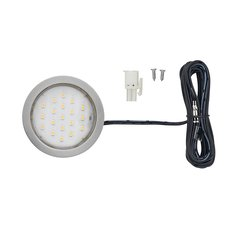 Pockit Plus LED Spot 1.5W Nickel <small>(#L-POC-1LEDSFR-WNI-1)</small>