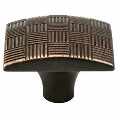 Virtuoso 1-3/8 Inch Diameter Venetian Bronze Cabinet Knob
